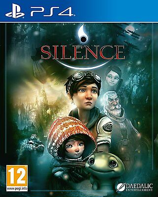 Silence  Playstation 4 Ps4  Region Free  Adventure Fantasy Video Game  Brand New