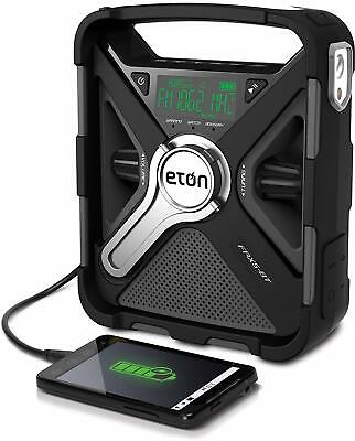 Etón FR5XBT Emergency Weather Radio, Ultimate Outdoor Radio, Bluetooth & Charger