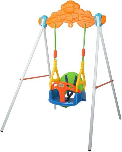 VILOBOS 3 In 1 Baby Swing Seat Toddler Infant Safety Hanging Playset Kids Toys