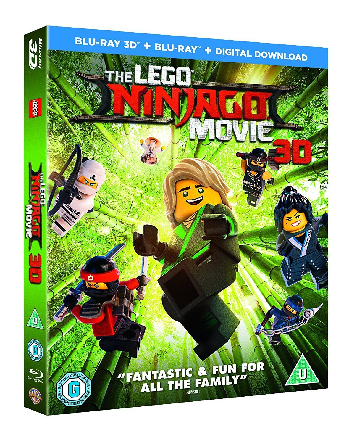 The Lego Ninjago Movie (3D Blu-ray)