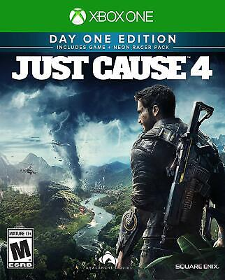 Just Cause 4 - Day One Edition Xbox One - Brand New - Free Shipping