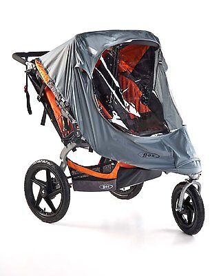 BOB Weather Shield for Revolution & Stroller Strides Duallie Stroller New!