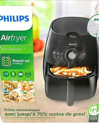 Philips AirFryer with Rapid Air Technology Black