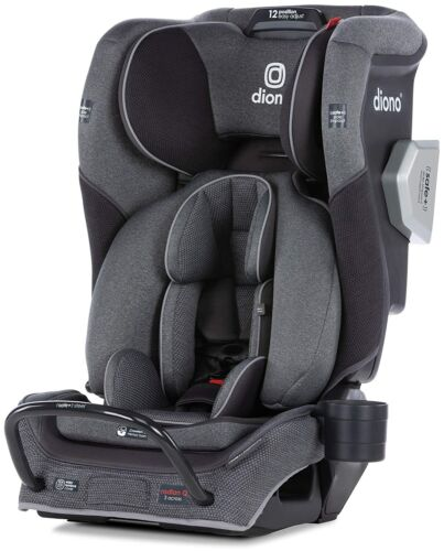 Diono Radian 3QXT All-In-One Booster Child Safety Car Seat Gray Slate NEW