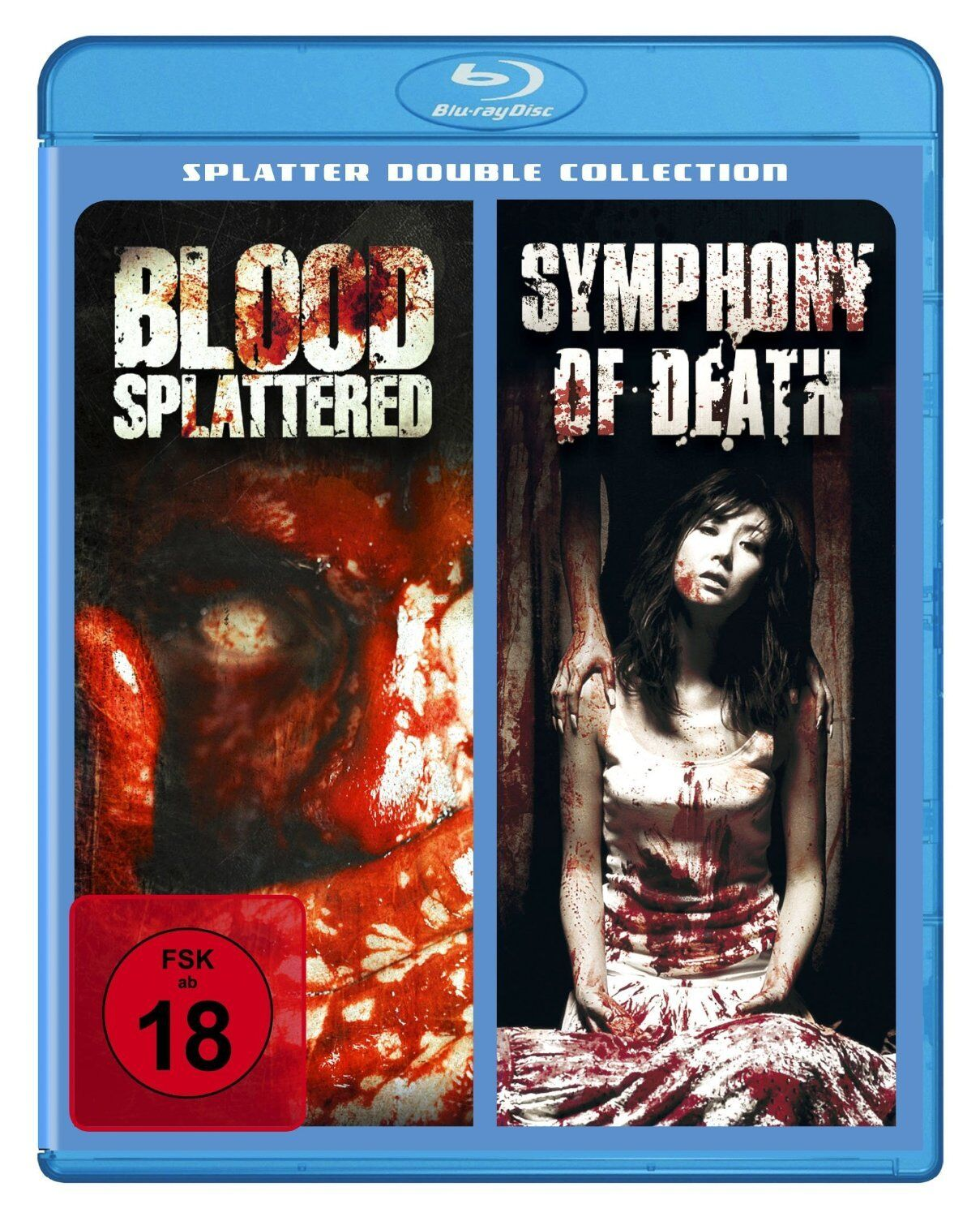 Splatter Double Collection / Blood Splattered/Sympthony of Death [Blu-ray Disc]