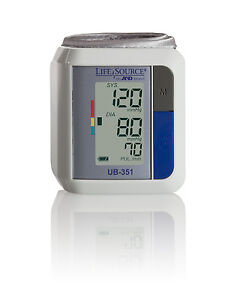 Lifesource UB-351 Automatic Wrist Blood Pressure Monitor