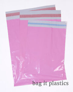 BLUE/PINK/PURPLE MAILING BAGS / POSTAL SACKS 9 x 12, 10 x 14, 12 x 16 & 16 x 21