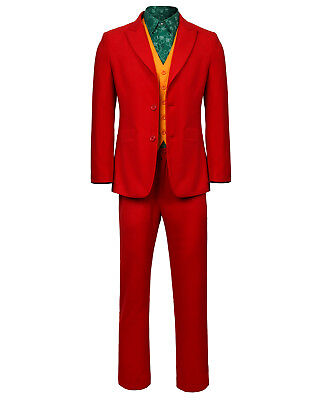 Joaquin Phoenix's Joker Costume Joker Origin Movie Cosplay Arthur Fleck Outfits - Costume Phoenix