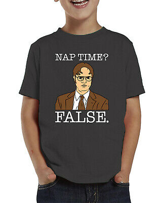 Tv Toddlers (Dwight Nap Time? False Funny TV Show Character Kid Humor Infant Toddler)