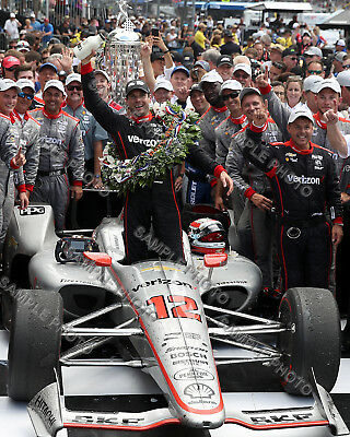 Will Power 2018 Indy 500 Winner Auto Racing 8X10 Photo 2