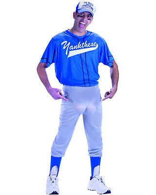 Morris Costumes Adult Men's Plus Size Baseball Nut One Size Plus. FW130105 (Men's Baseball Halloween Costumes)
