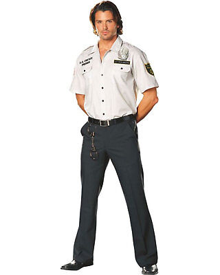 Morris Costumes Men's Sergeant Dick Poly Cotton Amazing Shirt XL. - Dick Man Costume