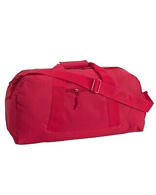 Liberty Bags Game Day Large Square Duffel 8806 Reinforced Gusseted Bottom OS