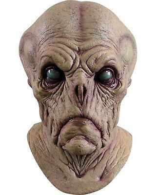 Morris Costumes Men's Realistic Look Alien Probe Full Over The Head Mask. - Alien Probe Mask