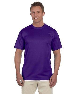 Sleeve Moisture Wicking T-shirt - Augusta Mens Sportswear Moisture Wicking Short-Sleeve T-Shirt S-3XL 790