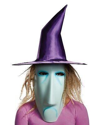 Shock Adult Mask The Nightmare Before Christmas Costume Halloween Cosplay Gift (Shock Nightmare Before Christmas Costume)