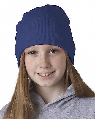 UltraClub New Adult Knit Beanie 100% Acrylic 8131 4