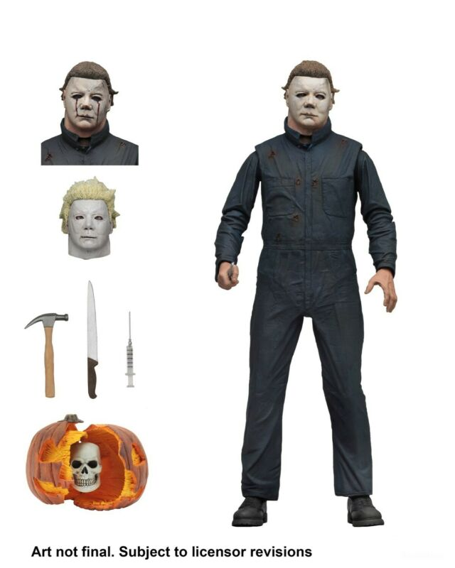 "Halloween 2 (1981) - 7"" Scale Action Figure - Ultimate Michael Myers - NECA"