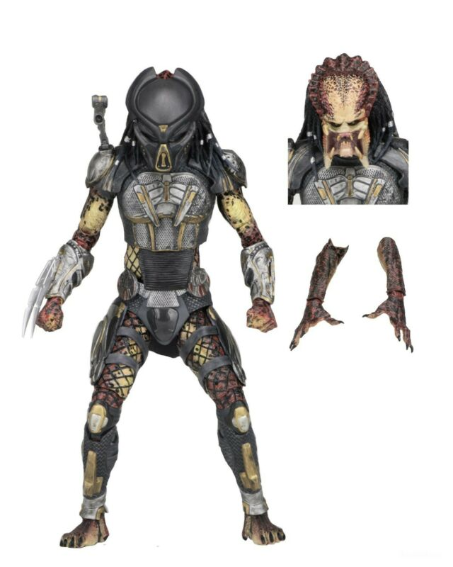 "Predator (2018) - 7"" Scale Action Figure – Ultimate Fugitive Predator - NECA"