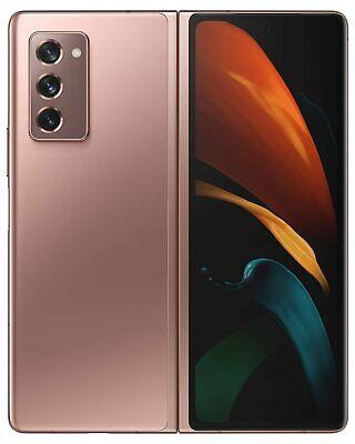 Samsung Galaxy Z Fold2 5G SM-F916N 256GB [Factory Unlocked] (Mystic Bronze)