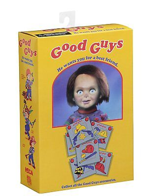 The Doll Killer Action Figure Ultimate Chucky 3 7/8in Neca Child Play Deluxe