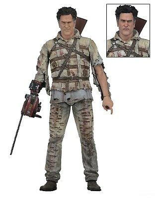 Ash Vs Evil Dead   7  Scale Action Figure   Series 2   Asylum Ash   Neca