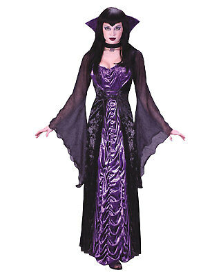 Morris Costumes Women's Halloween Vampire Countess Of Dark Costume S/M. FW1426SD