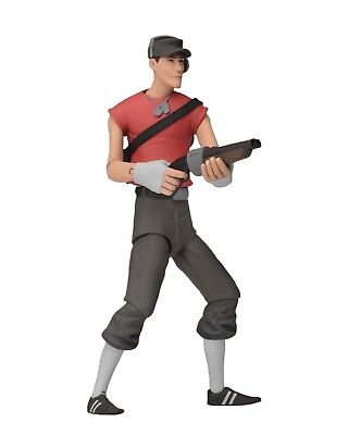 """Team Fortress 2 - 7"""" Scale Action Figures - Series 4 RED - Scout - NECA"""