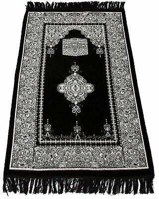 Sajda Rugs Best Quality Prayer Rug - Turkish Islamic Muslim Prayer Rugs Janamaz