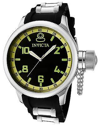 INVICTA-1433 RUSSIAN 1959 DIVER SIGNATURE COLLECTION MEN'S 100M QUARTZ WATCH.NEW