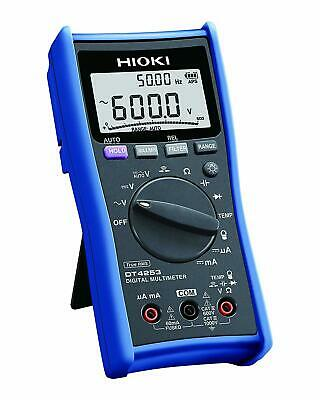 Hioki Dt4253 Digital Multimeter With Dcmatemperature Range For