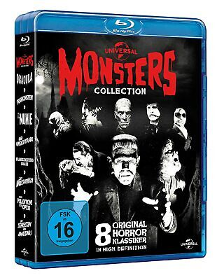Universal Monsters Collection (8 Filme) Blu-ray / NEU