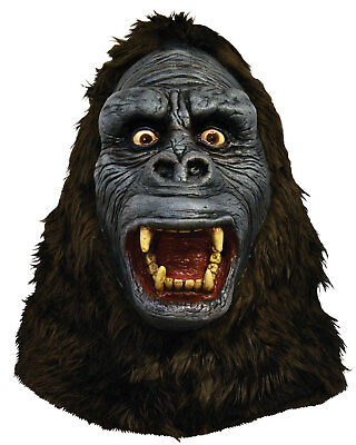 King Kong Mask (Morris Costumes King Kong Over-The-Head Latex Mask One Size.)