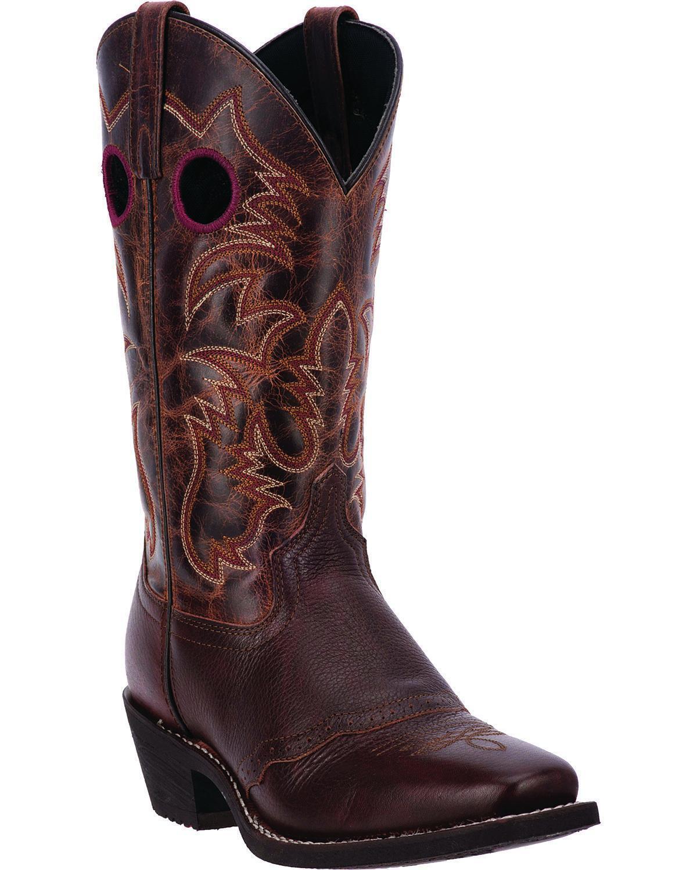 Laredo Men's Pequin Western Boot Square Toe