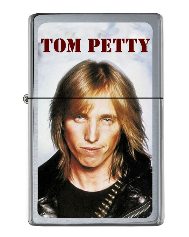Tom Petty Lighter in collectible tin. Numbered Limited Edition to just 250