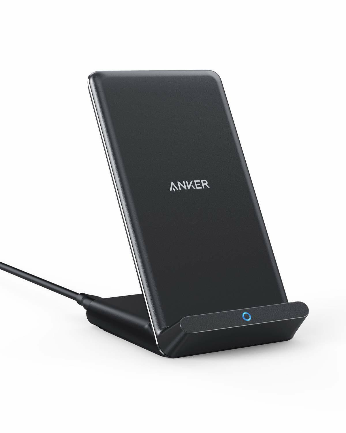 Anker Wireless Charger 10W Max PowerWave Stand Qi-Certified