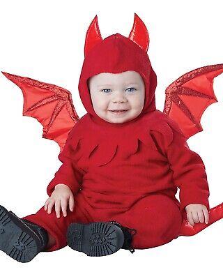 Infant Devil Costume (New Lil' Devil Infant Costume 12-18)
