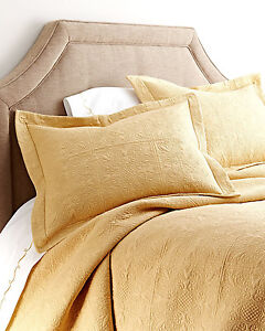 Cornsilk Yellow Twin Full Queen Or King Quilt Gold Cotton