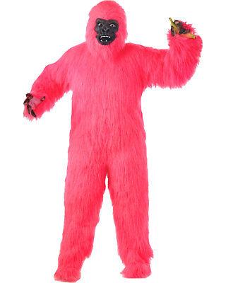 Morris Costumes Unisex Animals Pink Gorilla Adult. FM64633](Pink Gorilla Suit)