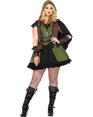 Morris Costumes Women's Darling Robin Hood Adult Costume 3X-4X. UA85281XXX (Female Robin Hood Halloween Costumes)