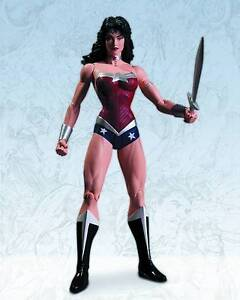 DC Direct Justice League Wonder Woman Action Figure - 6''/15 cm tall - NEW 52