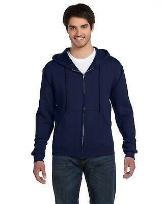 Fruit Of The Loom Adult 12 oz Supercotton Full-Zip Hood 82230 S-3XL - Loom Adult Supercotton