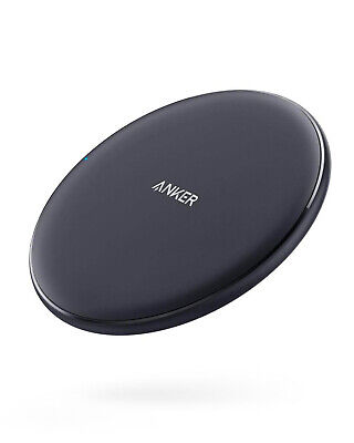 Anker Wireless Charger PowerWave Pad 10W Fast Charge for iPhone Galaxy Note