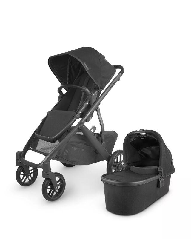 UPPAbaby Vista V2 Stroller -Jake-Charcoal-Black 2020