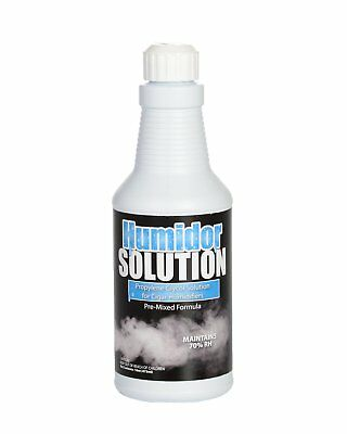 Cigar Humidor Solution - 50/50 Propylene Glycol Mix for Humidifiers - 16oz Pint