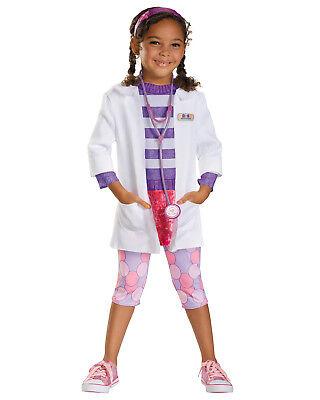 Morris Costumes Toddler Doctor Deluxe 3T-4T. DG59090M](Toddler Doctor Costume)