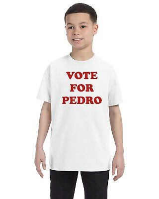 Vote For Pedro Napoleon Dynamite Youth T  Shirt Funny Humor Gosh  Halloween