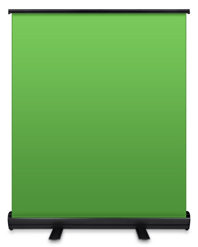 Photography studio Green Screen Chroma key Panel Background Backdrop with Case
