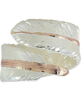 Montana Silversmiths Women s Rose Gold Filament Feather Ring - RG3430RG - $88.04