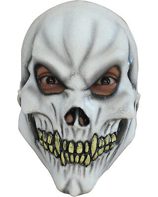 Morris Costumes Boys Realistic Look Halloween Horror Latex Skull Mask. TB25402 (Realistic Horror Halloween Costumes)